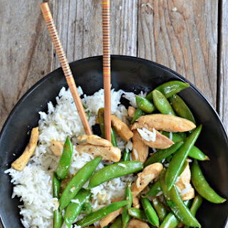 10 Minute Lemon Chicken Stir-Fry