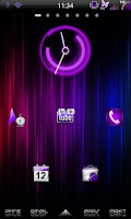 Screenshot of Mixer Purple - CM7 Theme