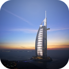 Dubai Night Live Wallpaper HQ