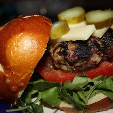 Stuffed Bacon-Cheddar BBQ Burger