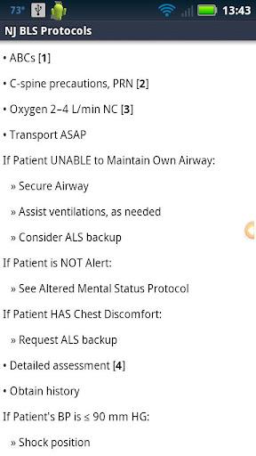 NJ BLS Protocols - screenshot