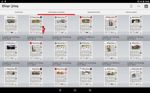 Eßlinger Zeitung - screenshot