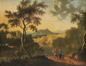 RIJKS: attributed to Timotheus de Graef: painting 1718