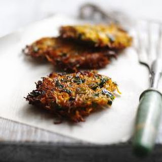 Carrot And Coriander Fritters Recipes
