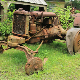 Old tractor by Ron Olivier - Novices Only Objects & Still Life