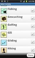 Screenshot of PathAway GPS Lite Edition