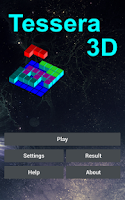 Screenshot of Tessera3D 3-dimensional puzzle