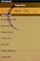 Screenshot of Dini Radyolar