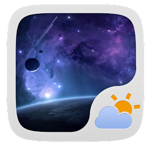 Universe Theme Go Weather Ex   Android Apps On Google Play