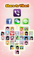 Screenshot of My Chat Sticker 2 V