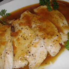 Chicken Breasts With Oriental Orange Glaze
