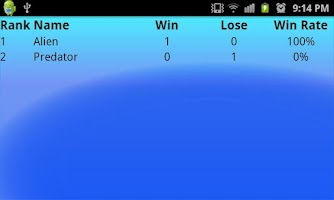 Screenshot of Badminton Scoreboard