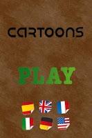 Screenshot of Cartoons Quiz