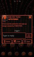 Screenshot of ORANGE TECH GO SMS Pro
