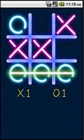 Screenshot of Tic Tac Toe Glow (No Ads)