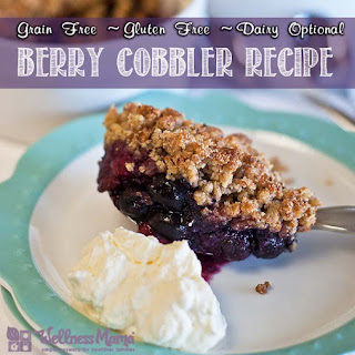 Healthy Berry Cobbler