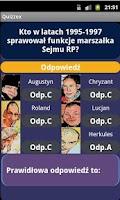 Screenshot of QUIZZEX