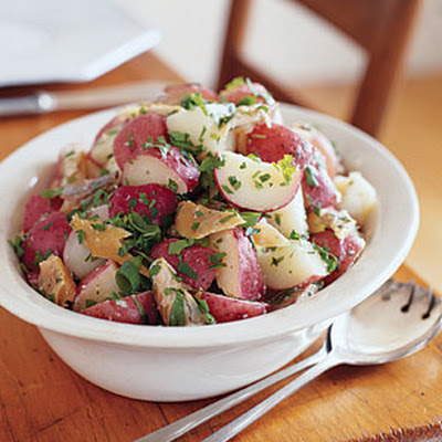 Warm Smoked-Trout Potato Salad