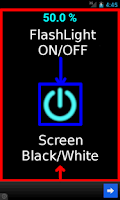Screenshot of Easy Simple Flash Light(Torch)