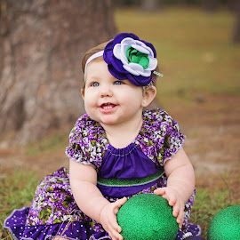 Happy Baby by Thea Joy - Babies & Children Children Candids ( model, joyful moments photography by thea, dress, baby girl, lil britches western wear )