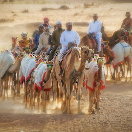 desert riders by Manny Fajutag - People Group/Corporate