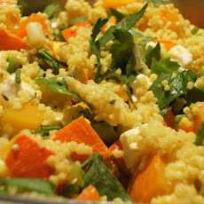 Spicy Millet Pumpkin Salad