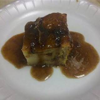 Berry Bread Pudding with Brown Sugar Sauce