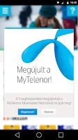 Screenshot of MyTelenor