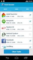 Screenshot of RAM Booster (Mem. Optimizer)