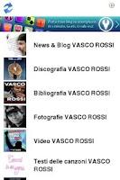 Screenshot of Vasco Rossi