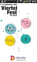 Screenshot of ViertelFest 2011