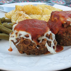 Marvelous Mini Meatloaves Italian Style