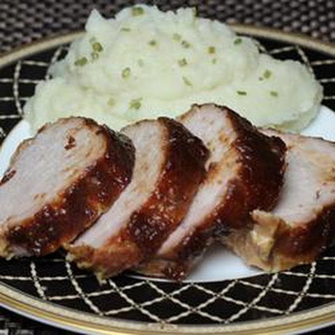 Apple Butter Pork Loin