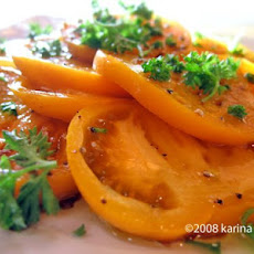 Yellow Tomato Salad