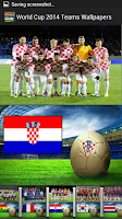 Screenshot of World Cup 2014 Teams Wallpaper