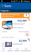 Screenshot of Sams Club México