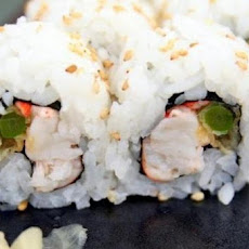 Scattered California Roll with Lobster