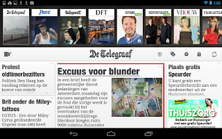 Screenshot of De Telegraaf