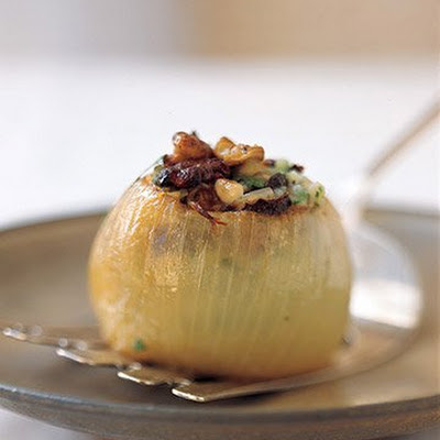 Baked Stuffed Onion