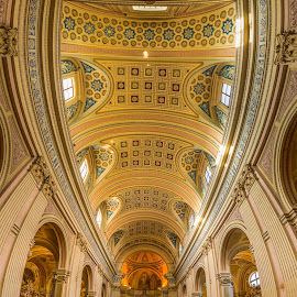 Cathedral in Rome by Tzvika Stein - Buildings & Architecture Places of Worship ( rome, cathedral, panorama )