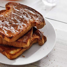 Cinnamon Toast with Butter and Honey