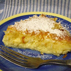 Impossible Coconut Pie