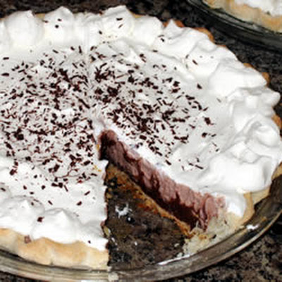 Krissy's Easy Chocolate Triple Layer Pie