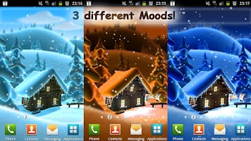 Screenshot of Winter Snow Live Wallpaper LWP