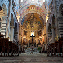 Florence Cathedral by Liz Childs - Buildings & Architecture Places of Worship ( interior, florence, cathedral, worship, italy,  )