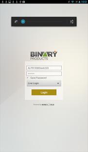 alpari binary options login yahoo