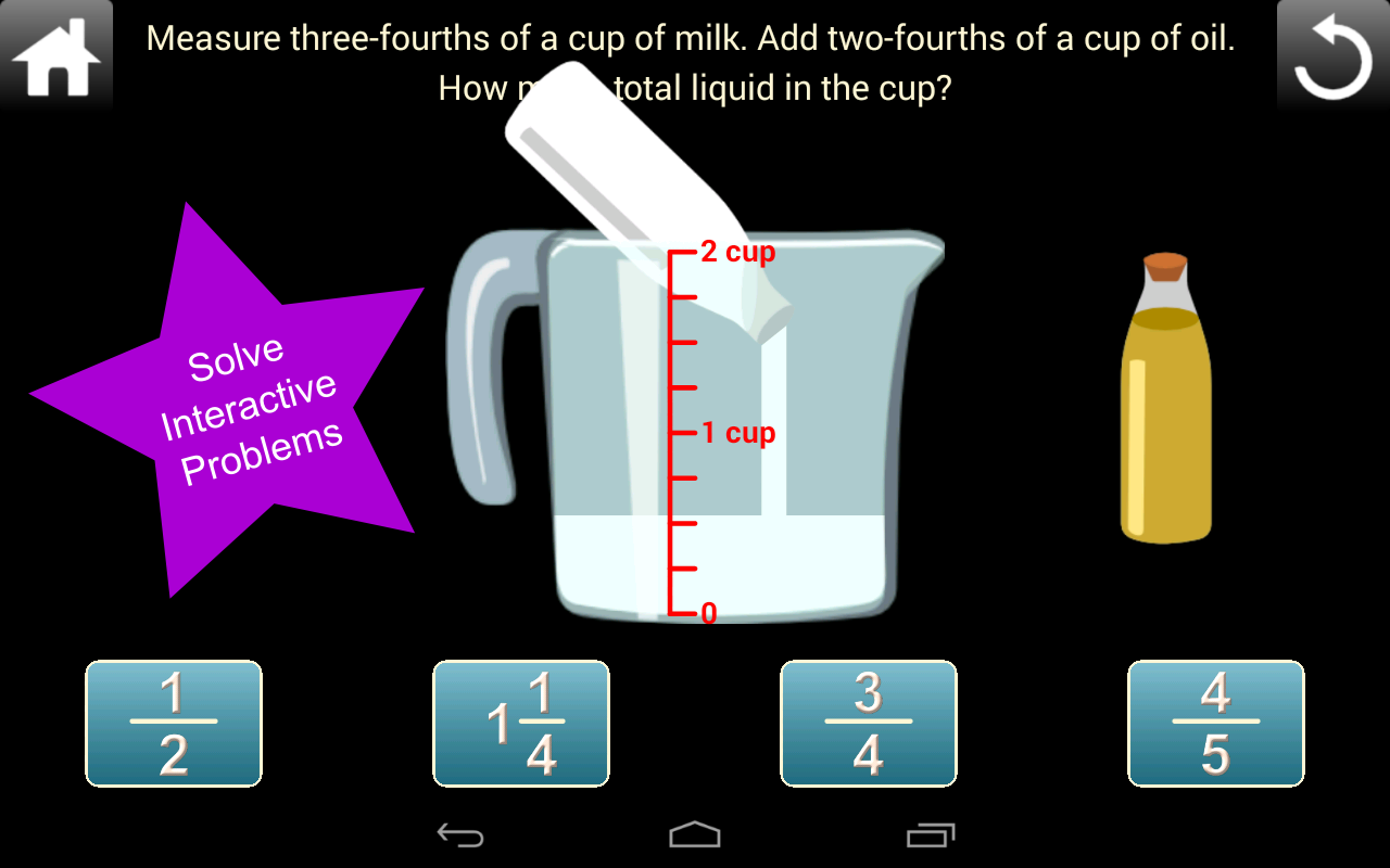 Fractions Screenshot 3
