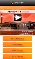 Screenshot of Aragón TV