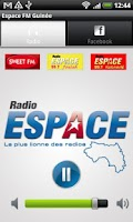 Screenshot of ESPACE FM GUINEE