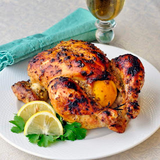 Easy Lemon Dijon Roast Chicken